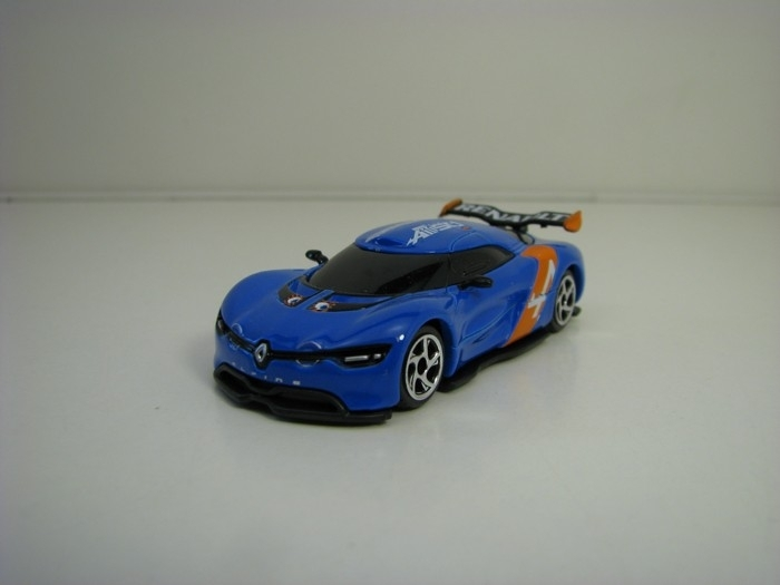 Renault Alpine A110-50 Blue racing cars 1:63 Majorette box
